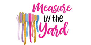 measure by the yard logo