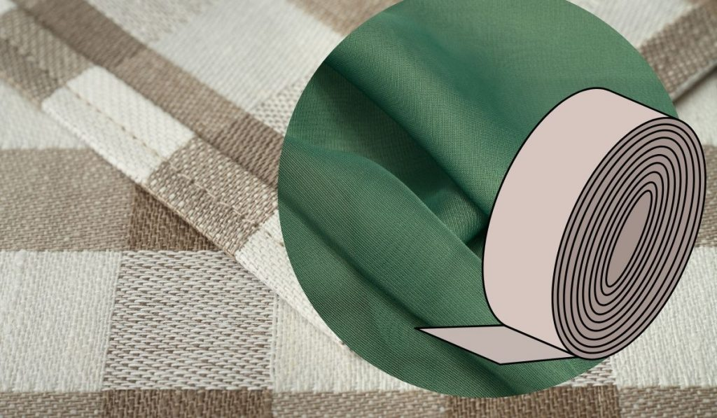 Hem Tape and Polyester Fabric