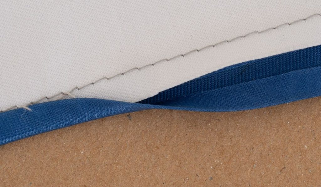 Bias Binding on Edge Home Sewing