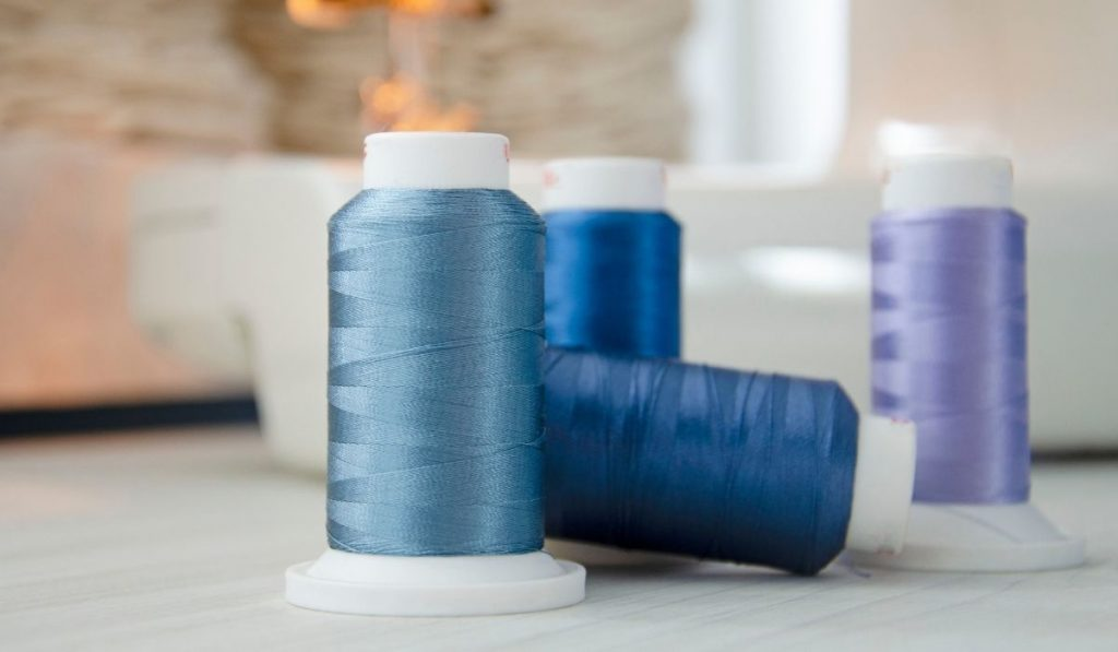 Sewing using Embroidery Thread